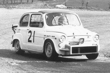 1969 Fiat Abarth 1000 Berlina Corsa