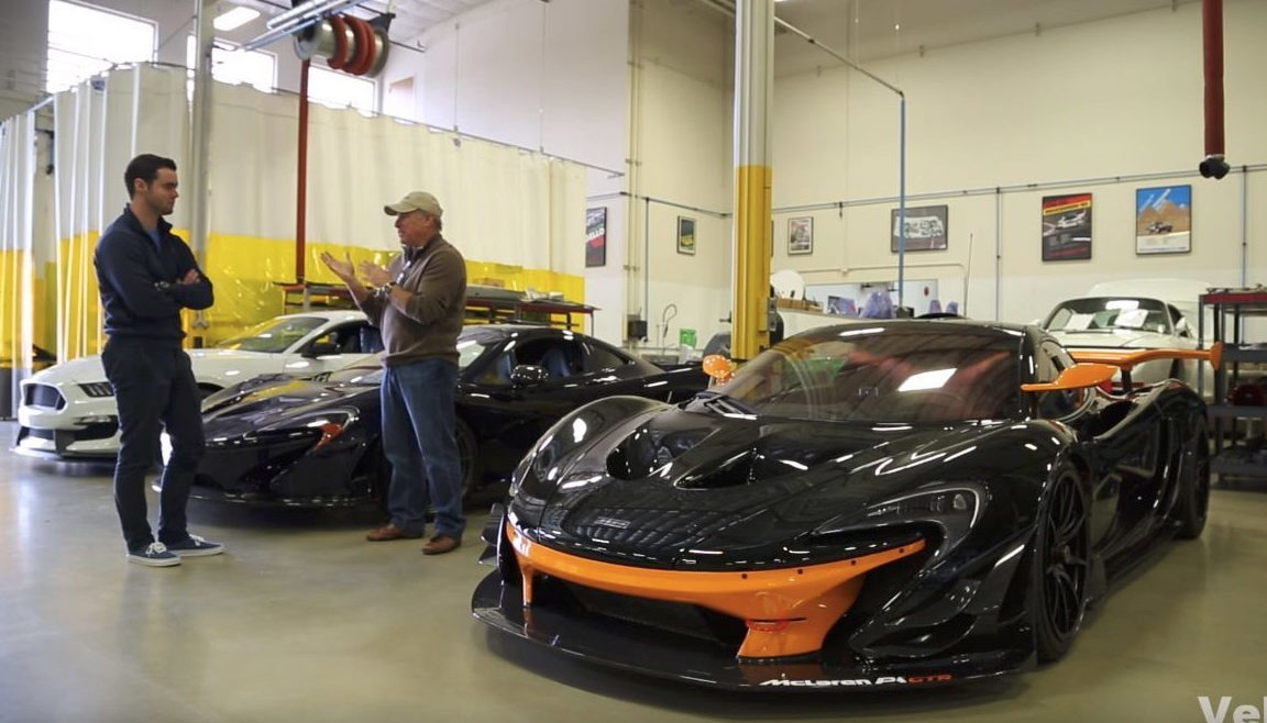 Bruce Canepa Talks About His McLaren P1 GTR