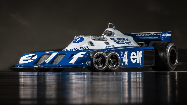 Famous Race Cars >> 1976 Tyrrell P34
