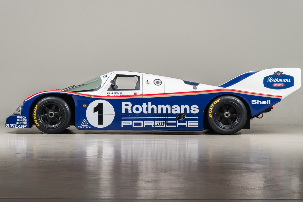 All Car Brands >> 1985 Porsche 962C