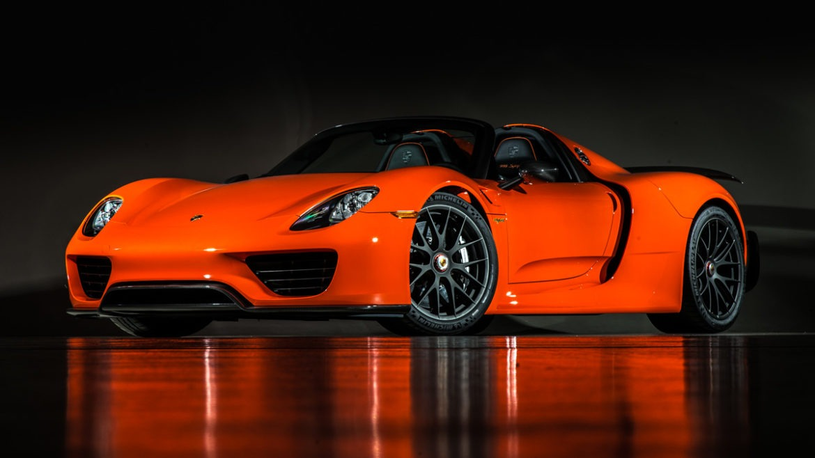 porsche 918 in a beautiful color oc autos. Black Bedroom Furniture Sets. Home Design Ideas
