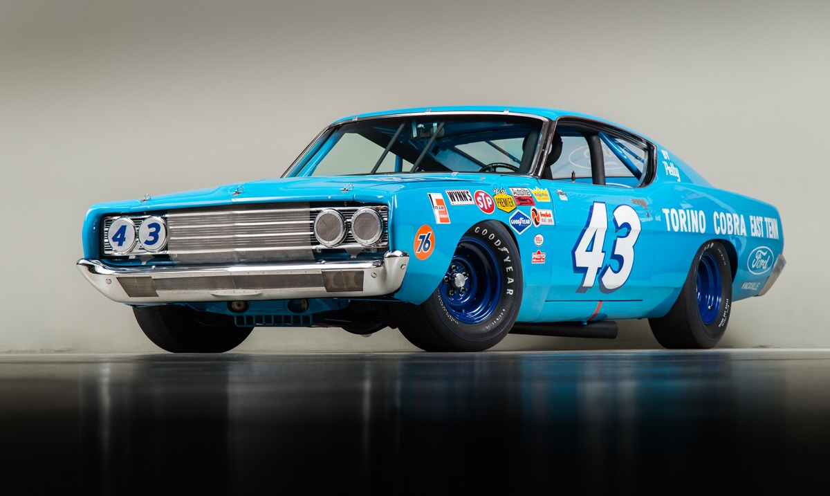 1968 Ford Torino Petty Stock Car