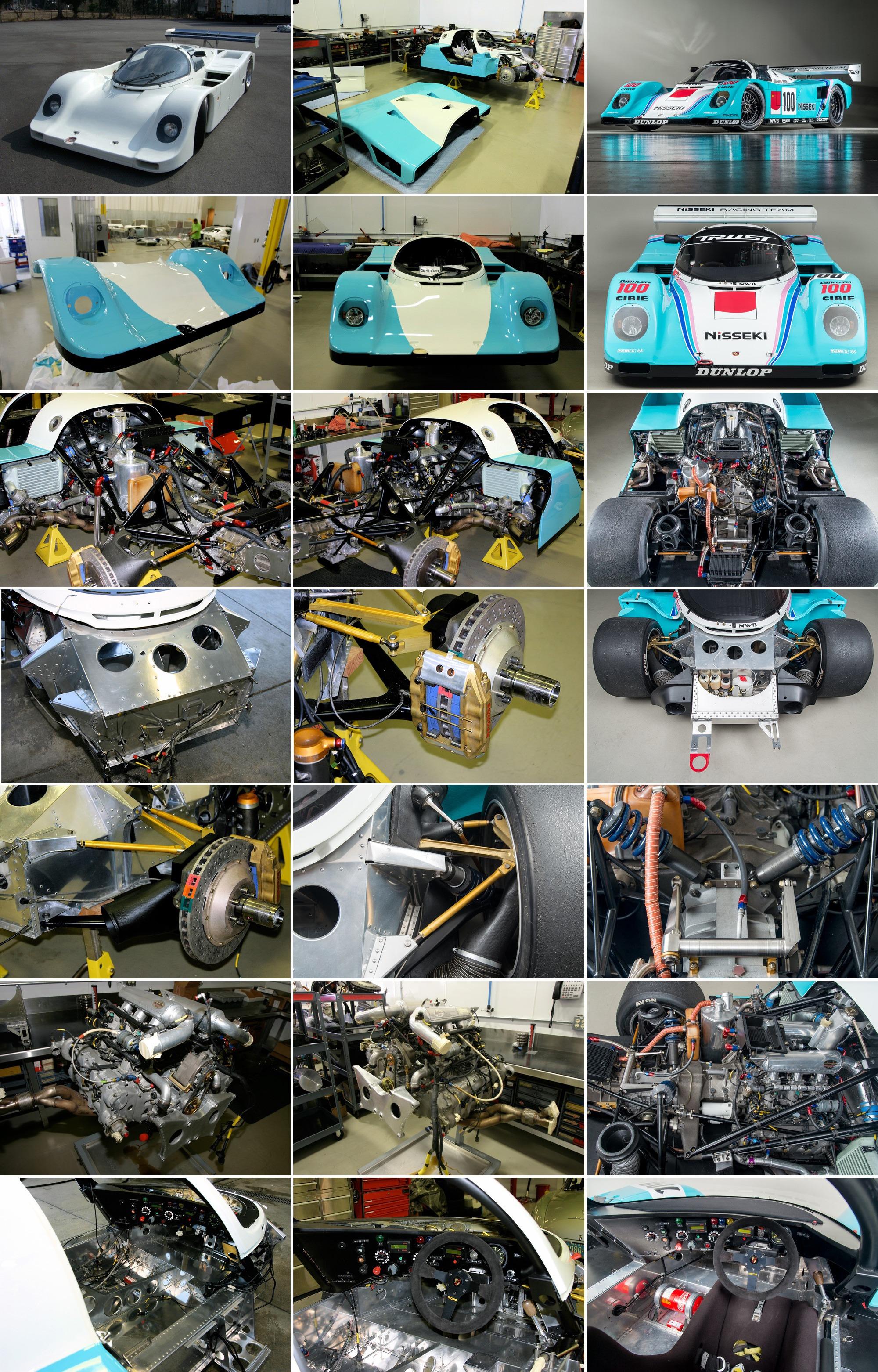 Porsche 962C Restoration Gallery