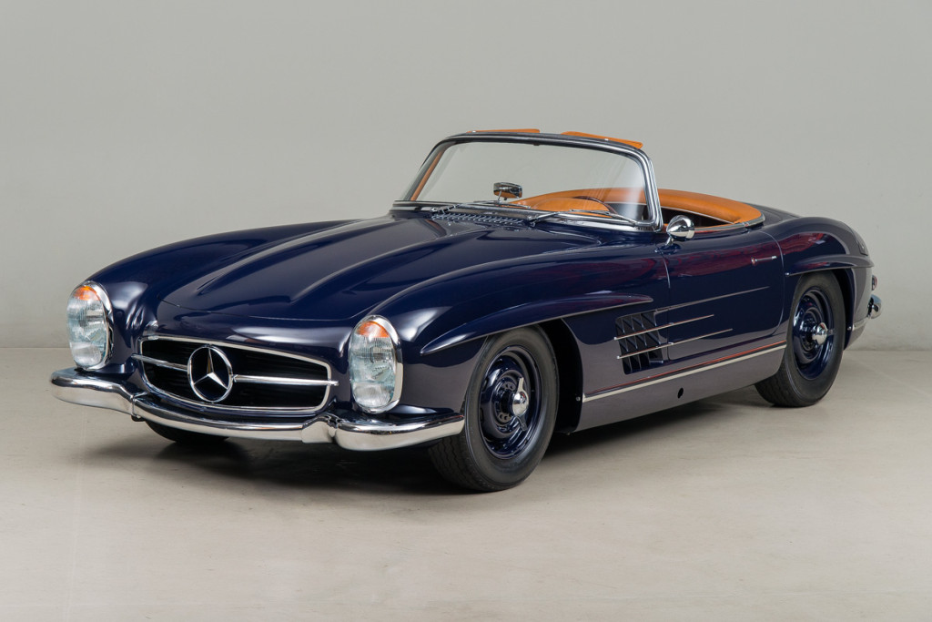 61 Mercedes 300SL Roadster 02