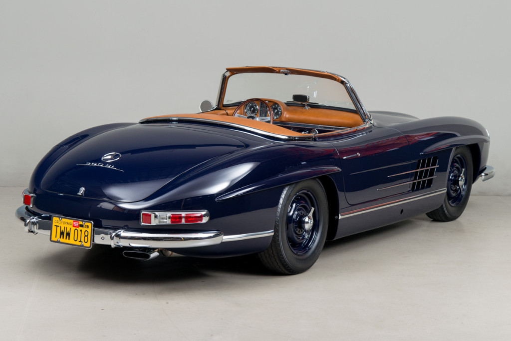 61 Mercedes 300SL Roadster 05