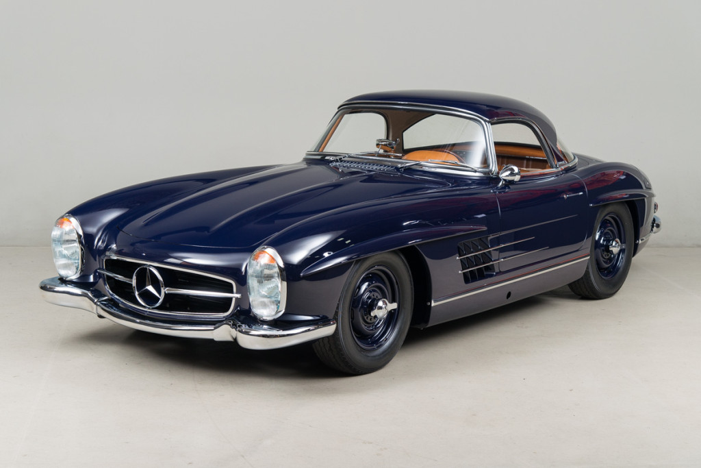 61 Mercedes 300SL Roadster 100