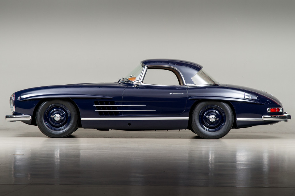 61 Mercedes 300SL Roadster 101
