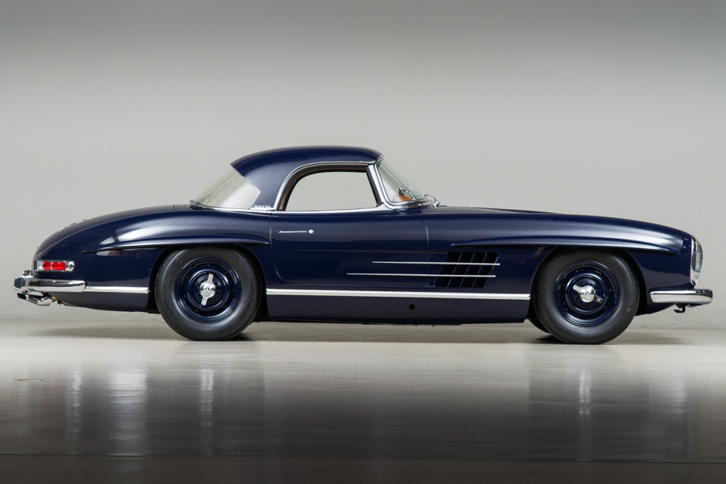 61 Mercedes 300SL Roadster 102