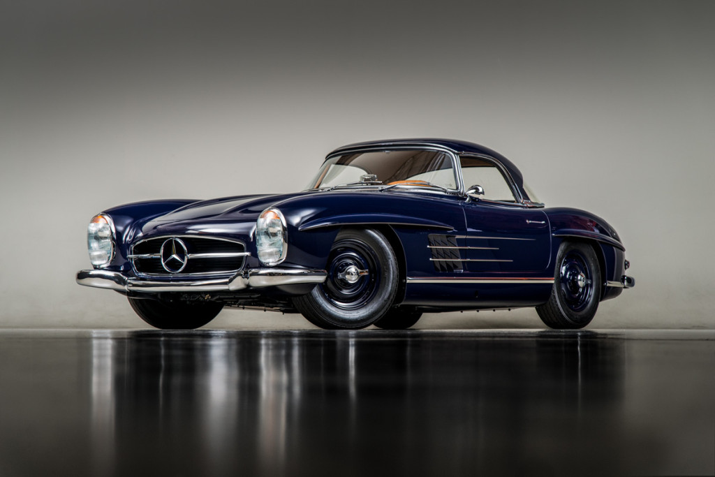 61 Mercedes 300SL Roadster 109