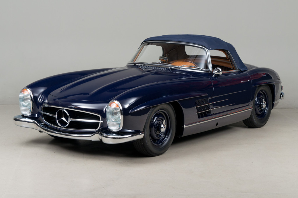 61 Mercedes 300SL Roadster 112