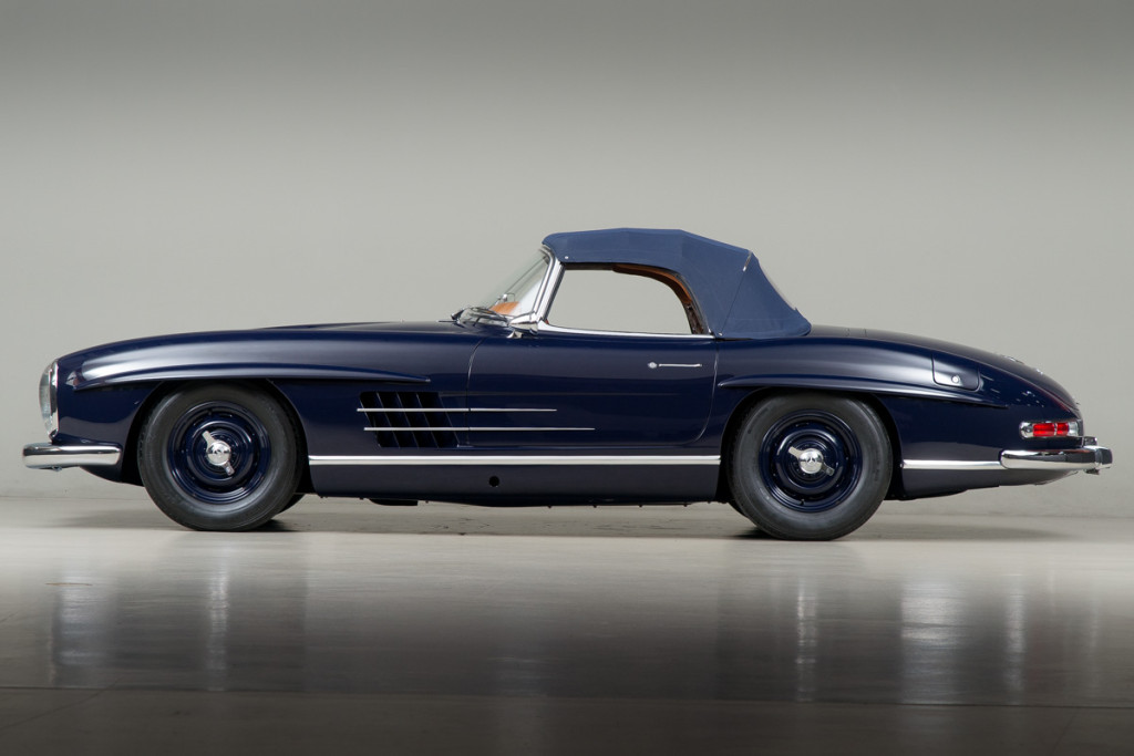 61 Mercedes 300SL Roadster 113