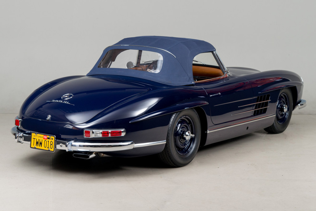 61 Mercedes 300SL Roadster 115