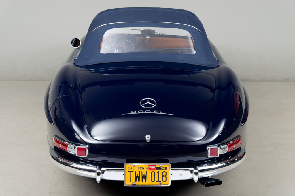 61 Mercedes 300SL Roadster 116