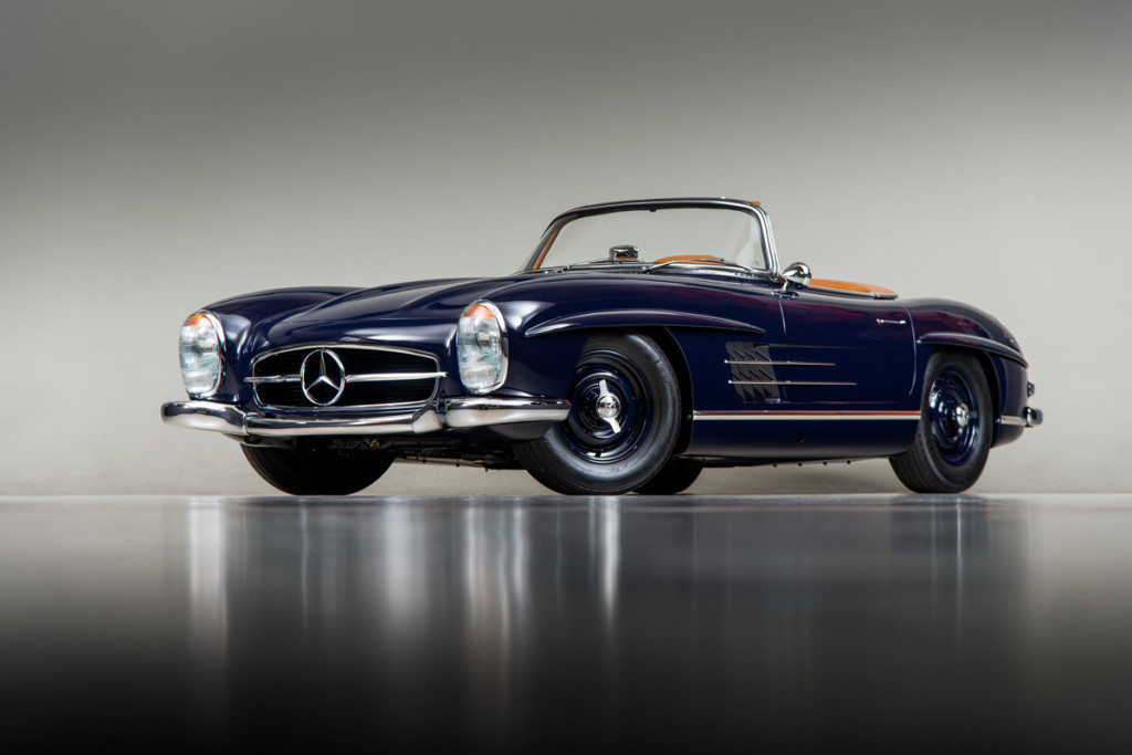 61 Mercedes 300SL Roadster 96