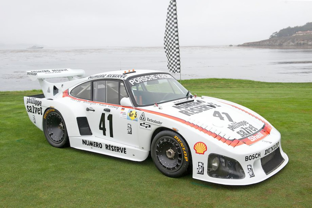 1979 Porsche 935 K3 Coupe, Le Mans winner