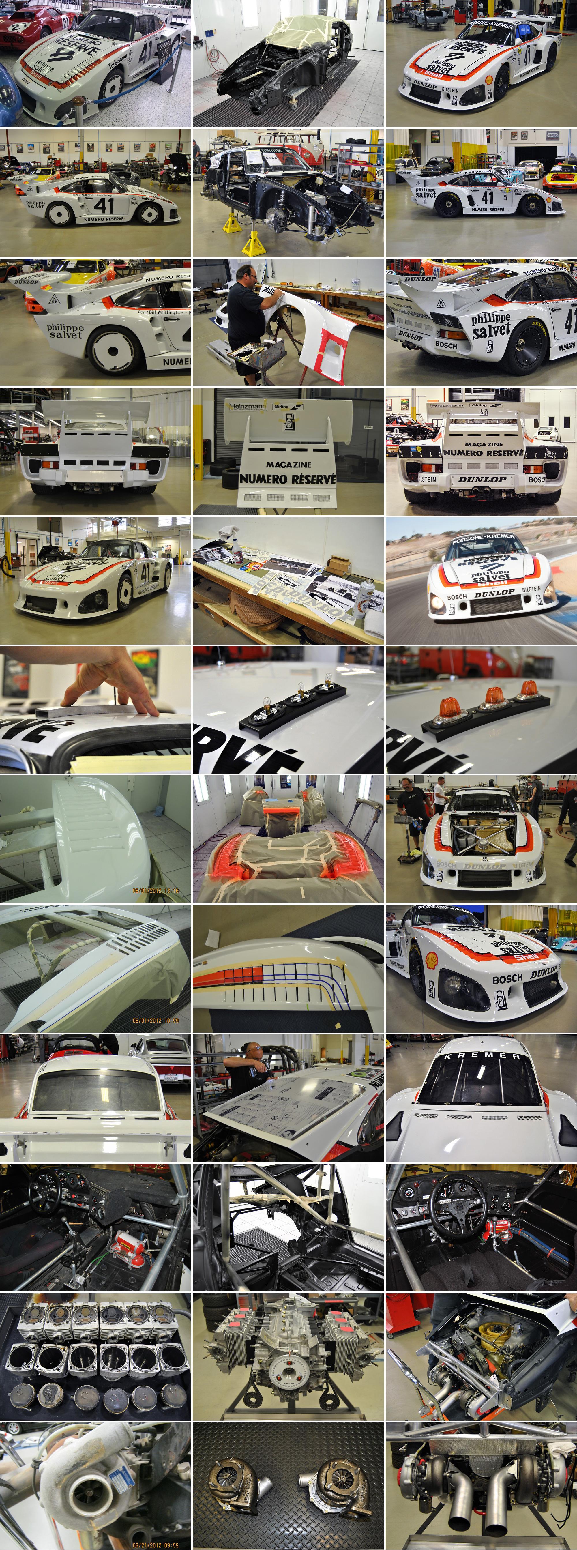 79 Porsche 935 K3 Restoration Gallery