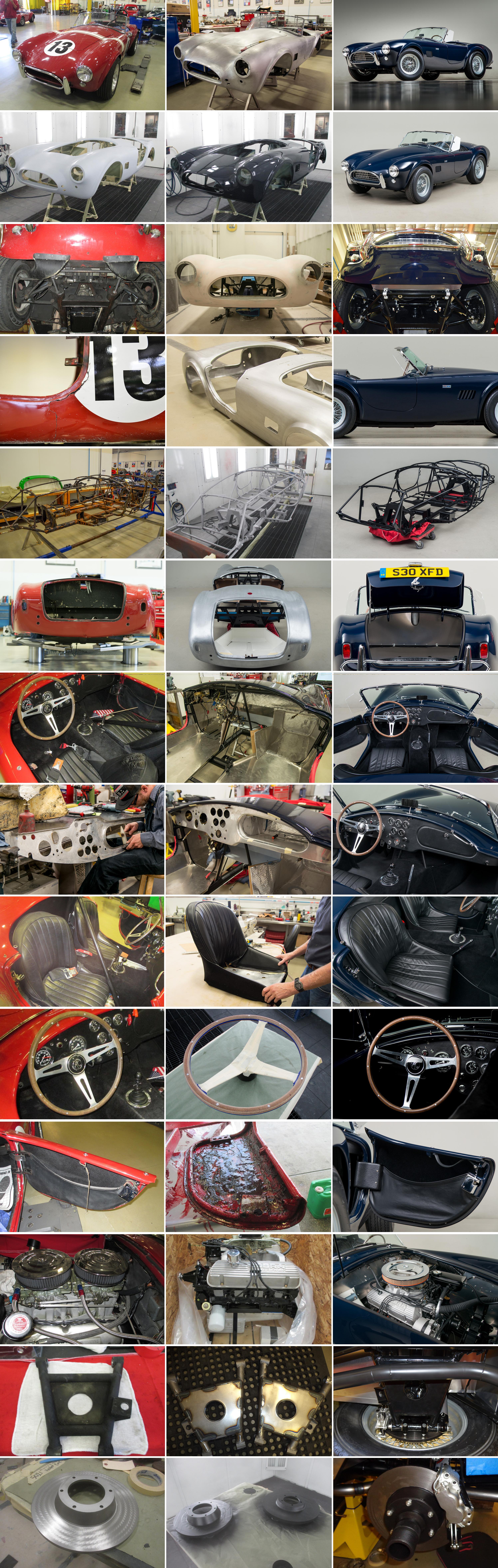 Shelby Cobra Restoration Gallery