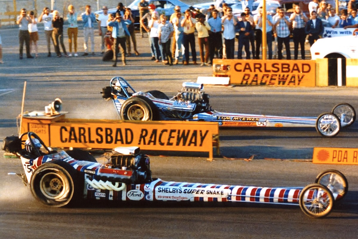 1967 Shelby Super Snake Dragster