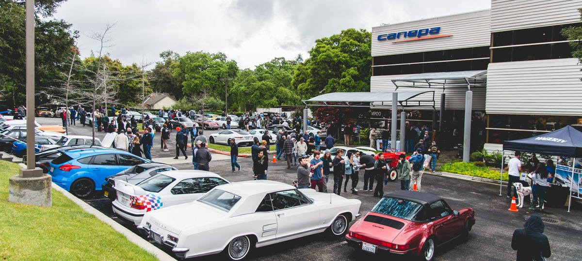 Canepa Cars and Coffee April 02
