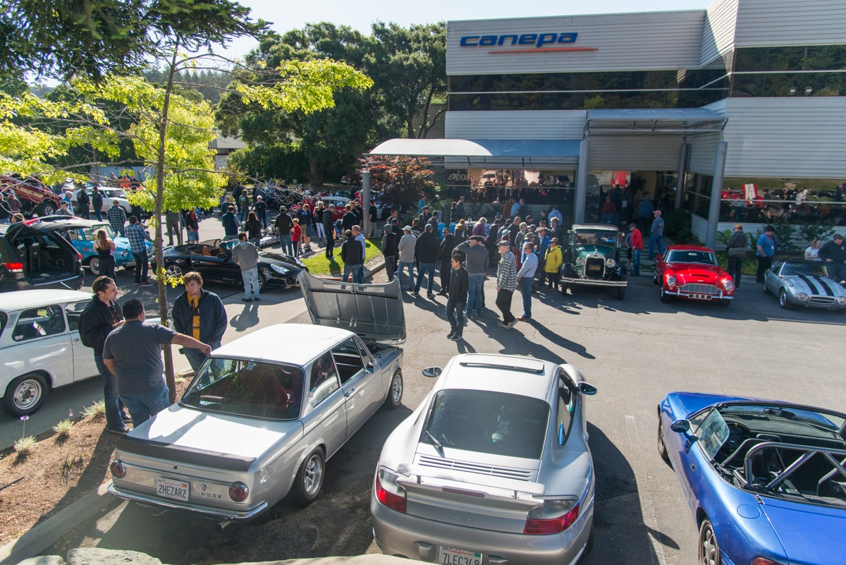 Canepa Cars and Coffee May 13th 2017 55