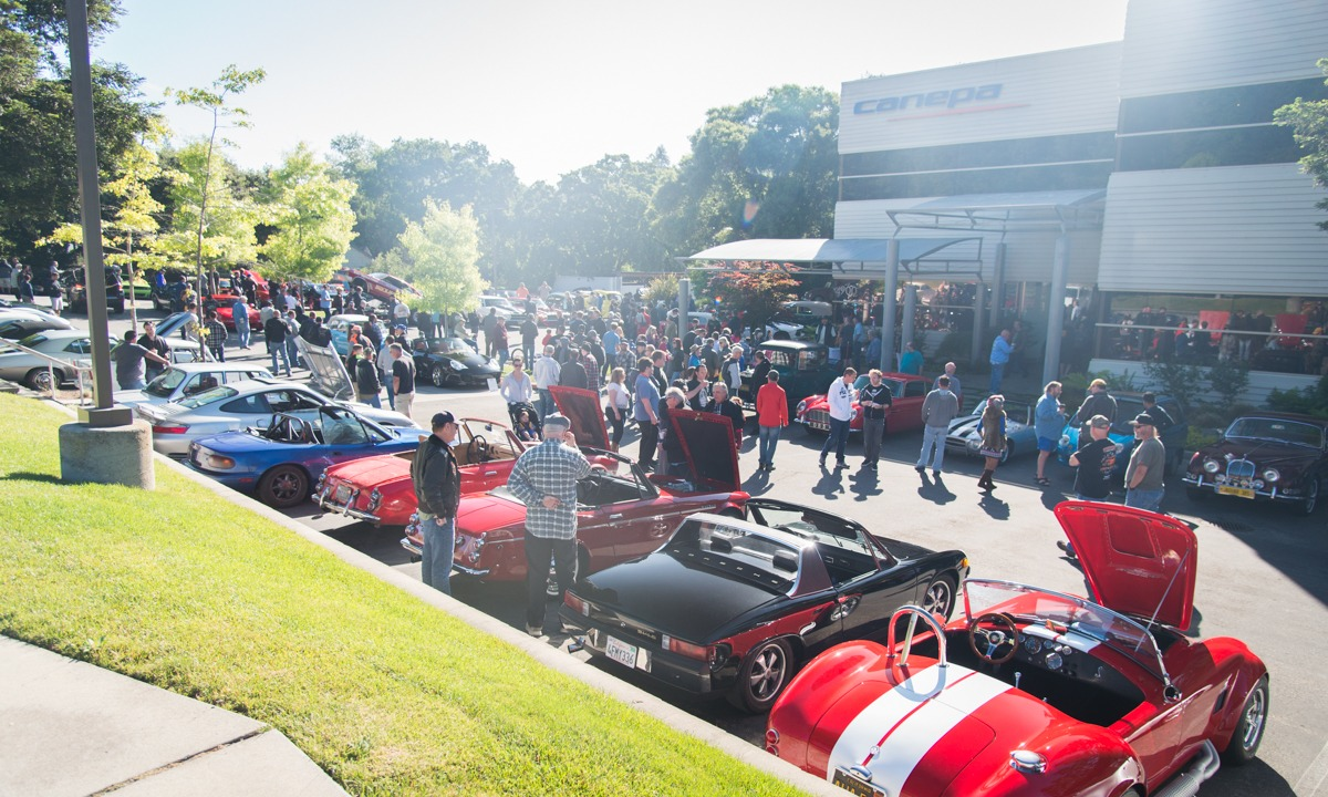 Canepa Cars and Coffee May 13th 2017 57