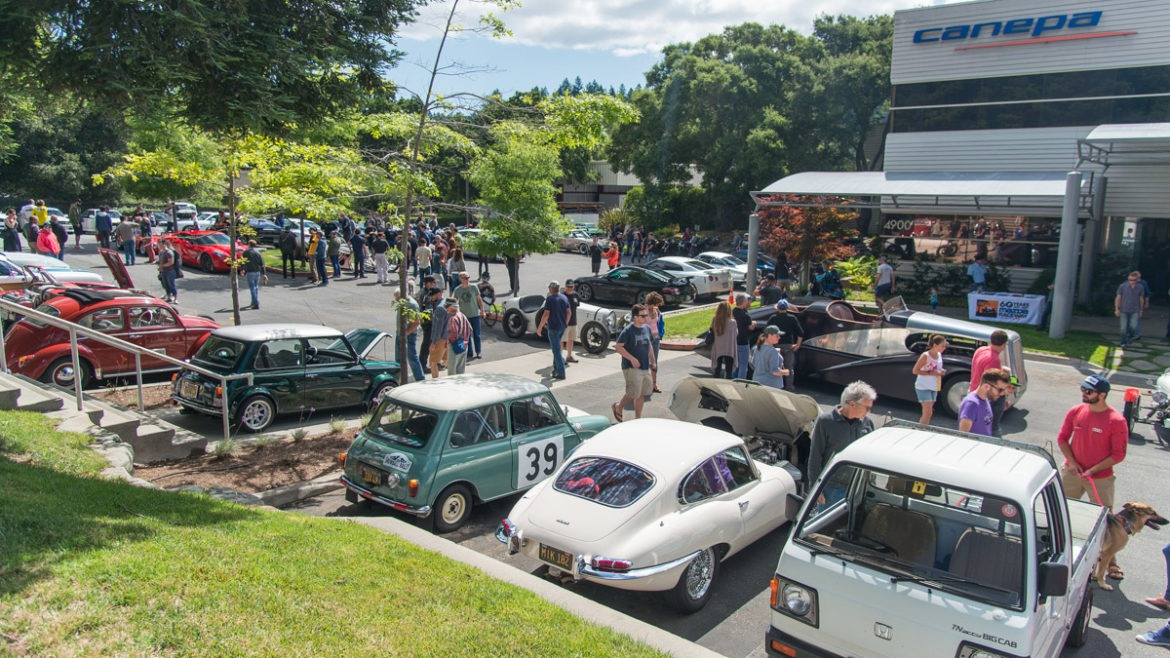 Canepa cars and coffee information 2017 season for Canape design cars