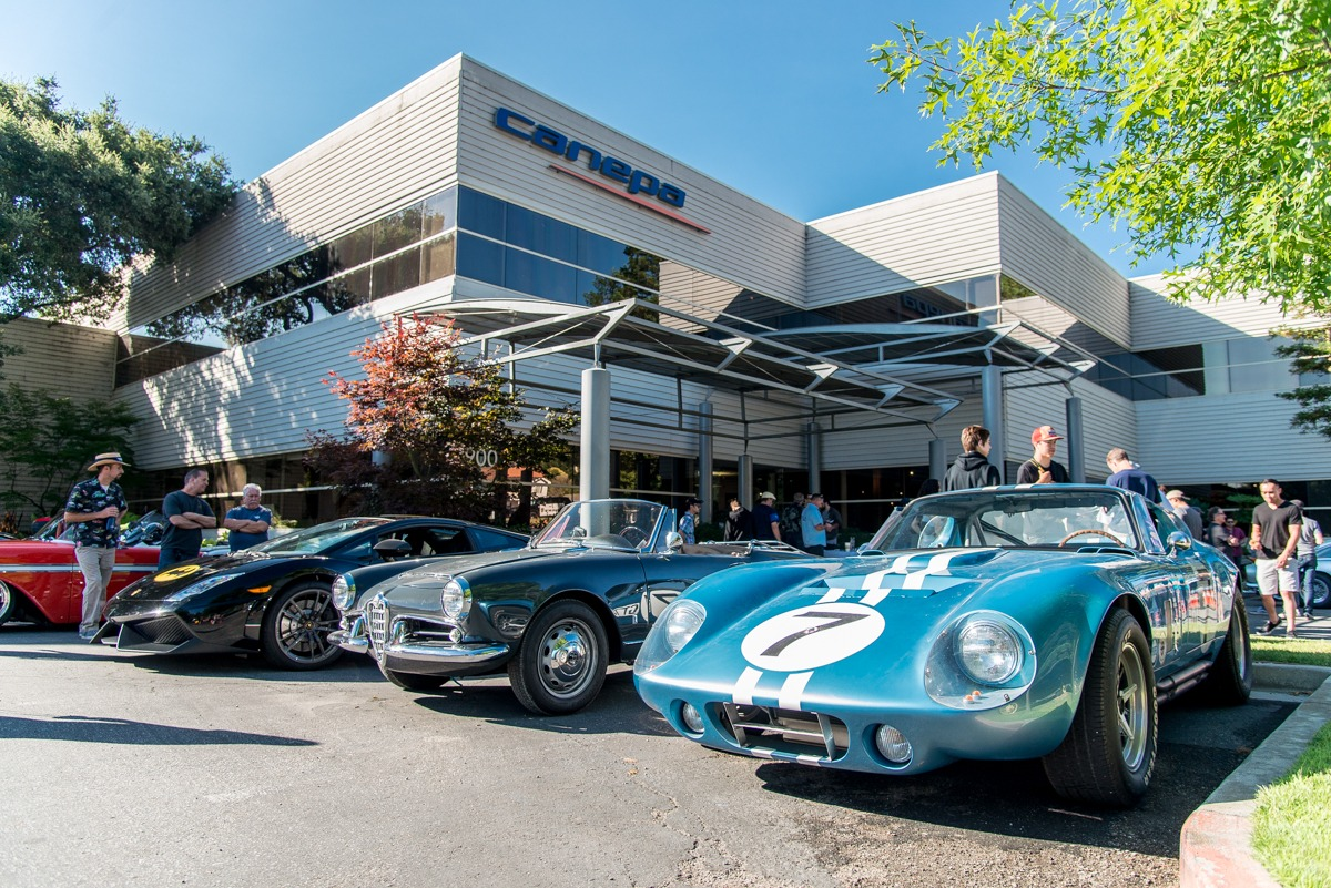 Canepa cars and coffee july 8th for Canape design cars