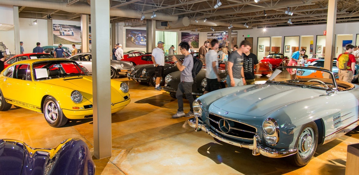 Canepa open house for Canape design cars