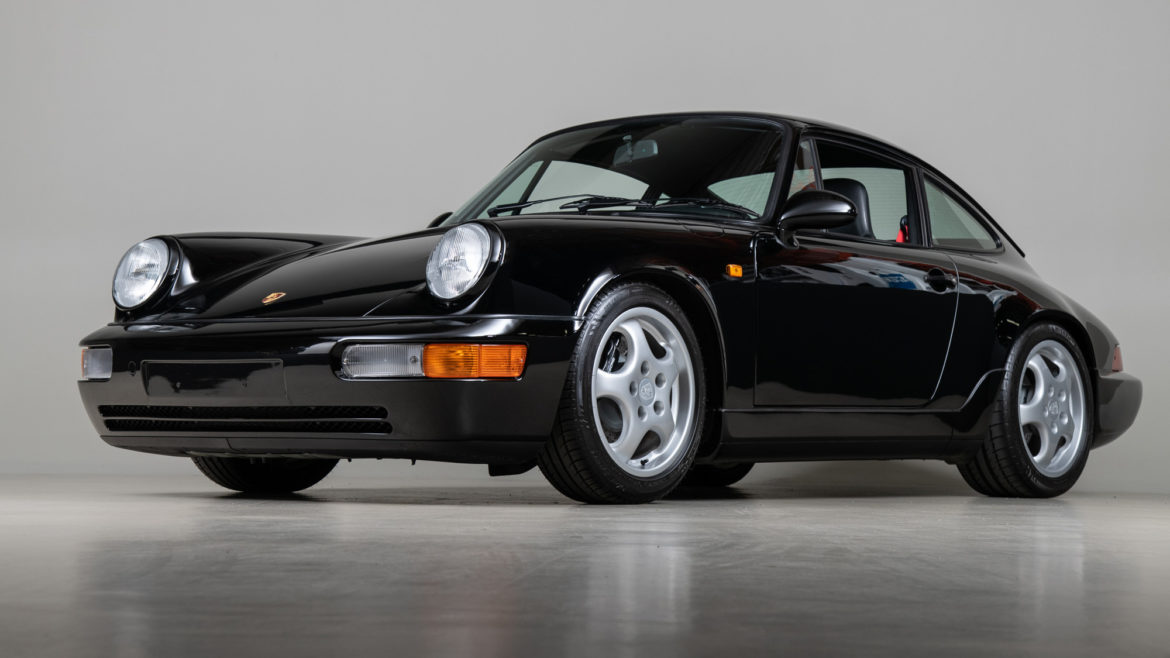Porsche 911 Carrera RS Dramatic